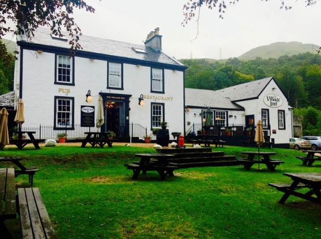 Village Inn Arrochar, Scotland