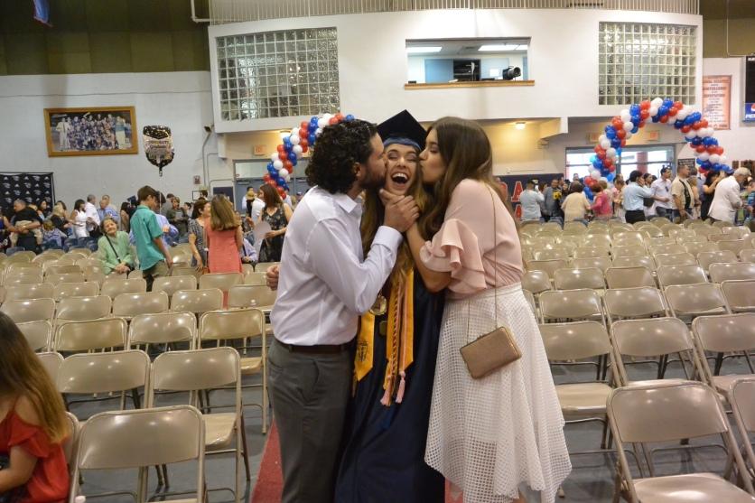 Gaby's graduation